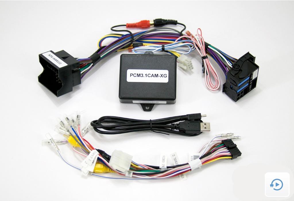 Back-up Camera Interface - PCM3.1 XG-CAM - NAV-TV