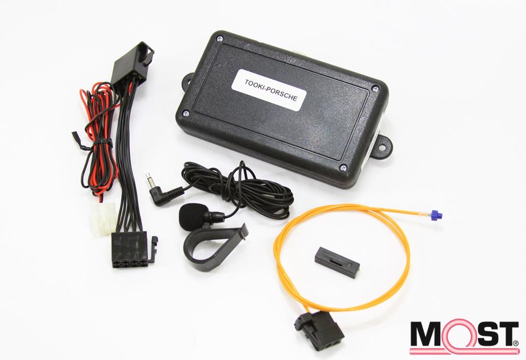 Bluetooth Interface - TOOKI Porsche - NAV-TV