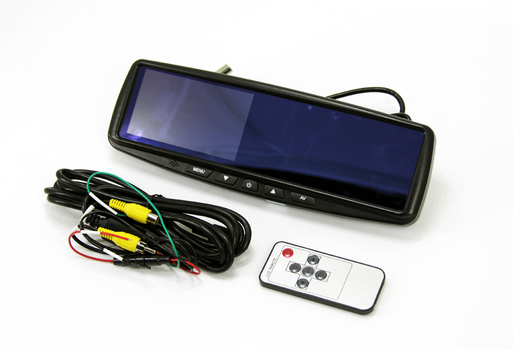 universal products lcd rear view mirror nav tv. Black Bedroom Furniture Sets. Home Design Ideas