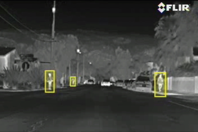 Pathfindir Vehicle Night Vision System Flir Pathfindir