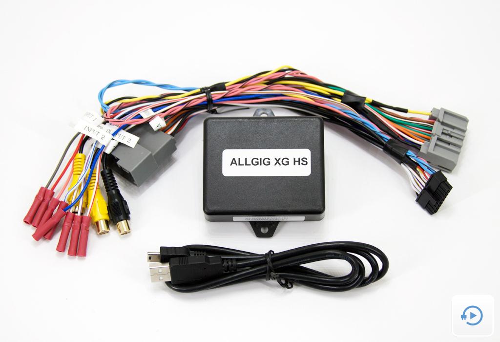 Video In Motion - ALLGIG-XG HS - NAV-TV