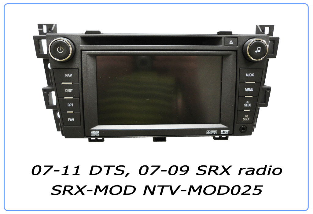 radio modifications srx mod radio modification service nav tv rh navtv com Cadillac SRX Models 2006 Cadillac SRX AWD Review