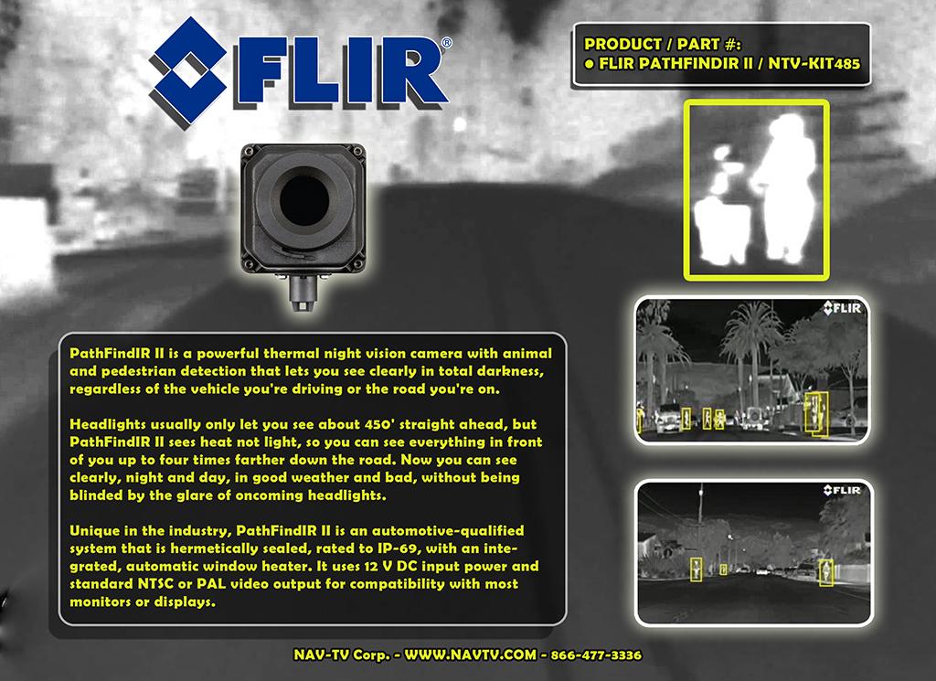 Pathfindir Vehicle Night Vision System Flir Pathfindir