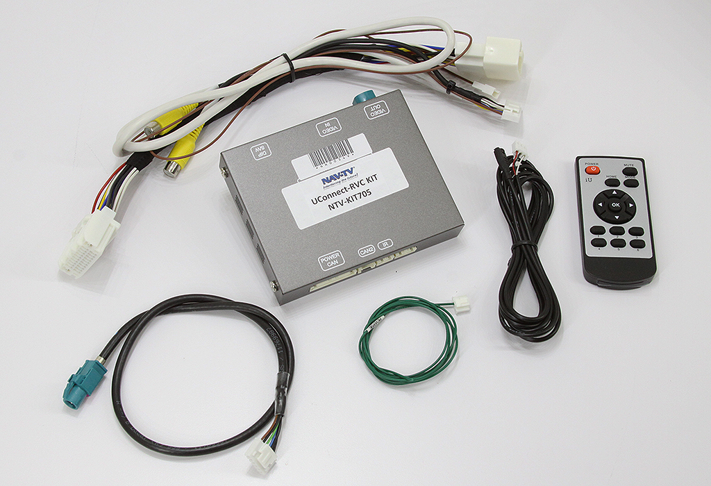 Back-up Camera Interface - Uconnect-rvc  8 4 U0026quot  Or 4 3 U0026quot  Screen