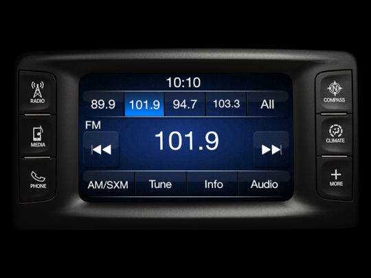 Car audio with satellite radio and bluetooth