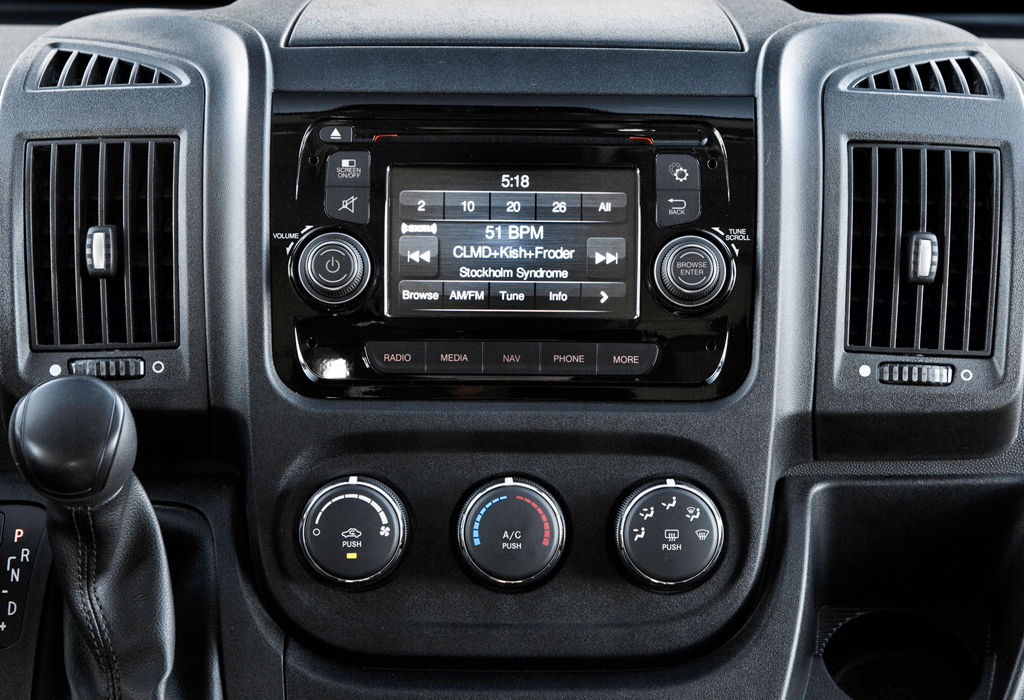 Dodge Ram Promaster >> Back-up Camera Interface - ProMASTER-CAM w/ OE-fit camera - NAV-TV